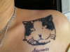 my lovely cat..... tattoo
