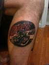 Cafe Racer tattoo