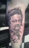 David Brent ( Ricky Gervais) tattoo