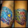 Dori & Squirt - Finding Nemo tattoo