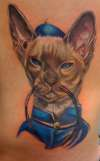 Siamese Cat tattoo