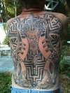 Full Back 2007 tattoo