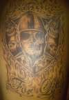 Raider Skulls tattoo