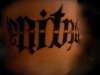 VERITAS/AEQUITAS tattoo