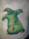 just oogie boogie tattoo