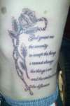 rosary serenity prayer tattoo