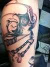 Craola Leg Sleeve Pt 2 tattoo