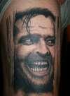 Jack Nicholson The Shining tattoo