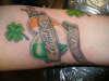 Irish heart tattoo