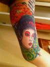 Geisha (Cover-Up) tattoo