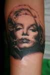Miss Monroe tattoo