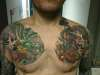 chest piece tattoo