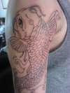 koy linework tattoo