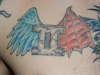 Gemini tat tattoo