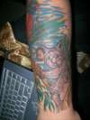 Koala - part of aussie animal sleeve tattoo