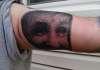 Charles Manson tattoo