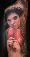 From Labyrinth Sleeve tattoo