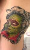 zombie stripper tattoo
