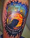 POW-MIA tattoo