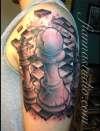 Chess 1/3 sleeve. tattoo