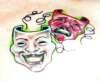Comedy/Tragedy Masks tattoo