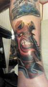 HELLBOY tattoo