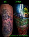 irish cover up tattoo