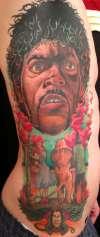 Bad Mutha Wizard tattoo