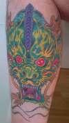 Classic work tattoo