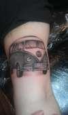 V-Dub Campervan tattoo