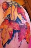 Fall colors tattoo
