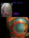 moon cover up tattoo