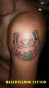 horse shoe tattoo