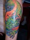 free hand by kelly gormley tattoo