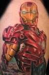 Iron man by Beto Munoz tattoo