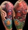 henya mask by Beto Munoz tattoo
