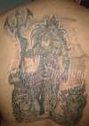 the art of myth (Poseidon) tattoo