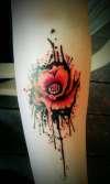 Popart Flowwah tattoo