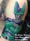 Dragonball Z sleeve tattoo by Craig Holmes