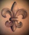 Fleur de Lis II tattoo
