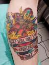 Futurama Robot Devil tattoo