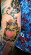 Owl Tattoo Gift