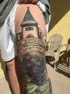 Wine Theme tattoo