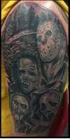 Horror Hit Squad tattoo