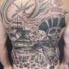 Pirate Back Piece tattoo