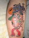 scooby doo tattoo