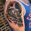 Gothic Femme Fatale tattoo