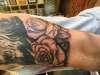Halfway done tattoo