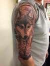 My Wolf tattoo