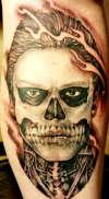 AHS Tate tattoo
